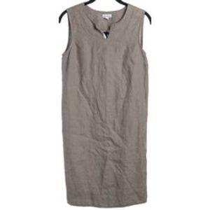 STEVEN ALAN Linen Sleeveless Sheath Dress 2